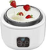 YYhkeby Máquina de Yogurt- Fozen Yogurt- Yogurt Maker  Glass Container Dieta Amigable Yogur Maker Jialele