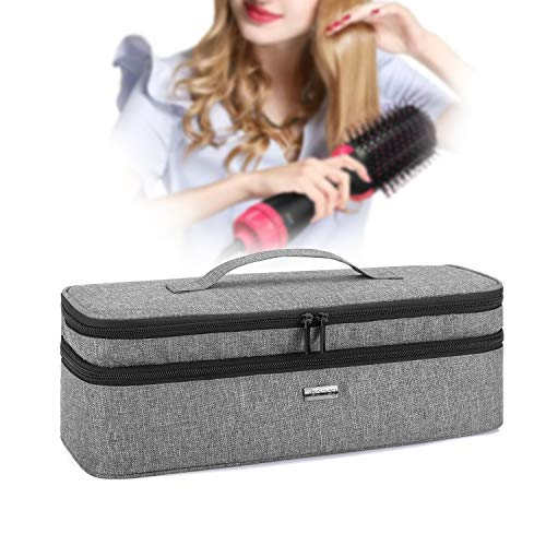Teamoy Double-Layer Travel Storage Case for Dryer Brush