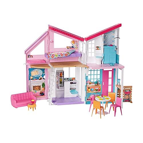 Barbie Accesorios Para Muñeca Casa Malibu Apto Para +3 Años