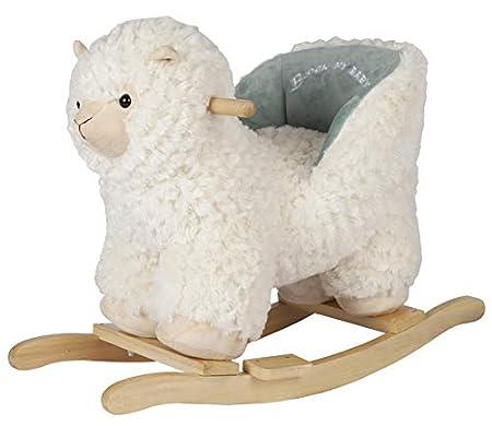 ROCK MY BABY Plüsch-Schaukeltier Lama