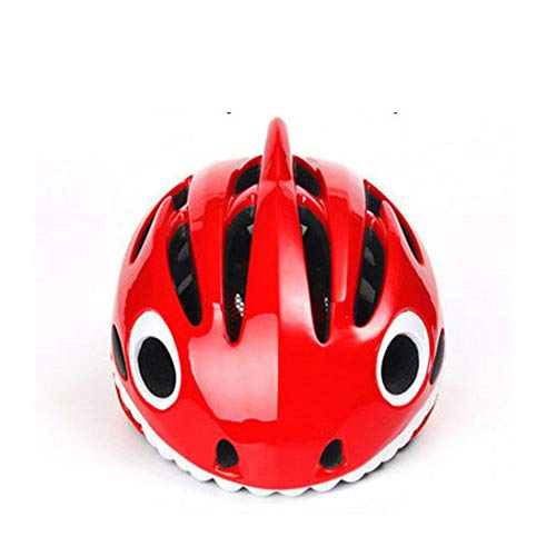 Fahrradhelm ZWRY Kinder Fahrradhelme Animal Seal City Offroad Mountainbike Outdoor Sport Sicherheit Kinderhelme 55-57 Rot 3