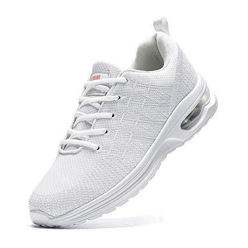 Zapatillas de deporte para hombre, para correr, caminar, tenis, gimnasio, casual, cómodo, transpirable, ligero, para correr, para el trabajo, para el deporte, para el deporte