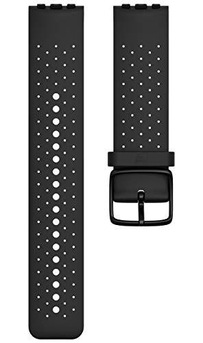 Polar Unisex– Erwachsene Wechselarmband Vantage M Uhrenarmband, Schwarz, S/M