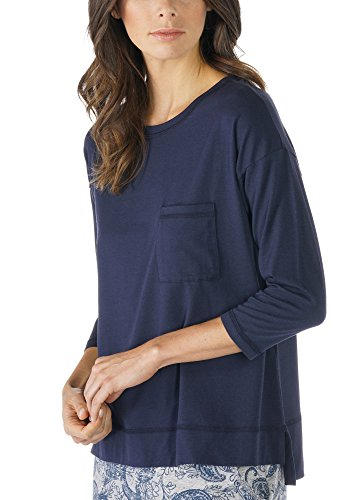 Mey Night2day Night2Day Damen Homewear-Oberteile Blau XXL