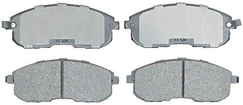 Price comparison product image ACDelco 14D815ACH Advantage Ceramic Front Disc Brake Pad Set
