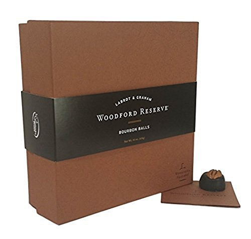 Woodford Reserve Bourbon Ball Gift Box, 32 Candies per box, delicious and perfect for holiday gifts