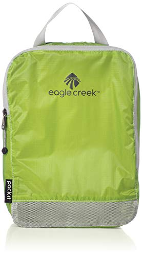 Eagle Creek Pack-It Specter Clean/Dirty Split Half Cube Packing Organizer, Strobe Green (S)