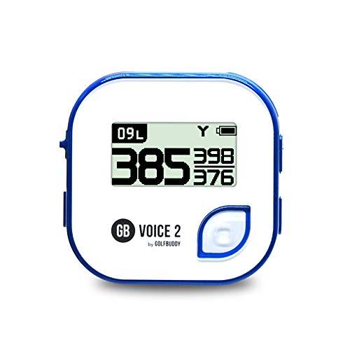 GolfBuddy Voice2 Système GPS de Golf Unisexe Blanc/Bleu...