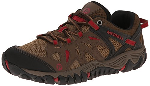 Merrell Women's All Out Blaze Aero Sport Hiking Water Shoe, Dark Earth, 6 M US
