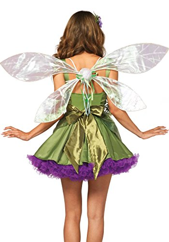 Leg Avenue Iridescent Pixie Wings, One Size, White