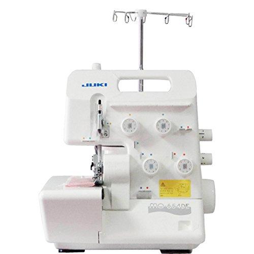 Juki MO-654DE – Mejor máquina de coser Remalladora con mayor calificación online