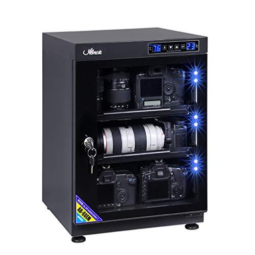 LIU UK Dry Cabinet Armadio A Secco per Obiettivo Fotocamera da 65L con Scatola A Prova di umidità...