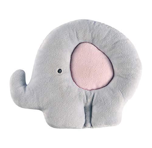 KoojawindProductos para bebés Animal Lindo Infantil Bebé antivuelco Almohada Recién Nacido Prevenga los Regalos del cojín Principal Plano, Almohada del bebé Cabeza del sueño Cojín antivuelco