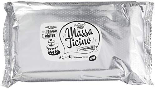 Barry Callebaut Massa Ticino Tropic Weiss, 1er Pack (1 x 2.5 kg)