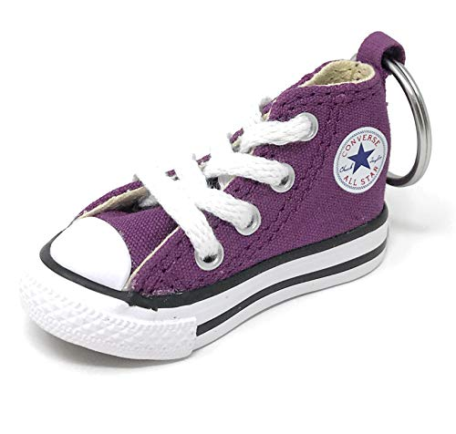 Converse Key Chain All Star Chuck Taylor Sneaker Keychain Authentic (Purple/white)