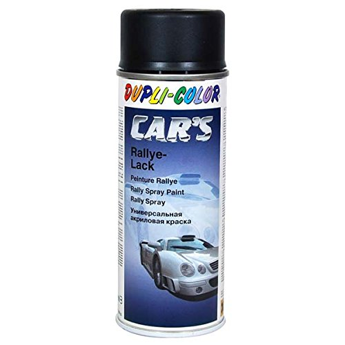 Dupli-Color 652240 Cars Lackspray, 400 ml, Schwarz Seidenmatt