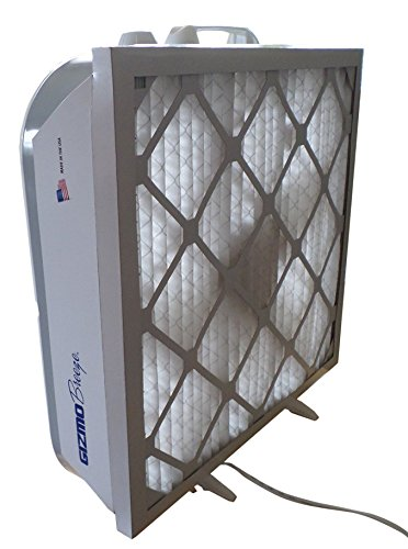 overspray floor fan with filter - 4