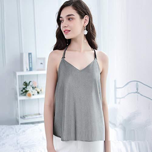George zhang Strahlenschutzanzug Umstandskleid tragen Schwangere Frauen dudou Anti-Strahlung Schwangerschaftskleidung zur Arbeit tragen Vier Jahreszeiten tragen Silbergrau,XL