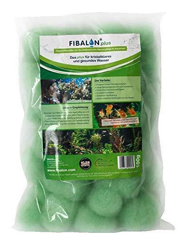 FIBALON PLUS 100g - Hochwirksames Filtermaterial für Teich und Aquaristik