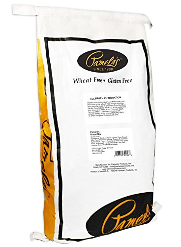 Pamela's Products Gluten Free Bread Mix, 25-Pound Bag