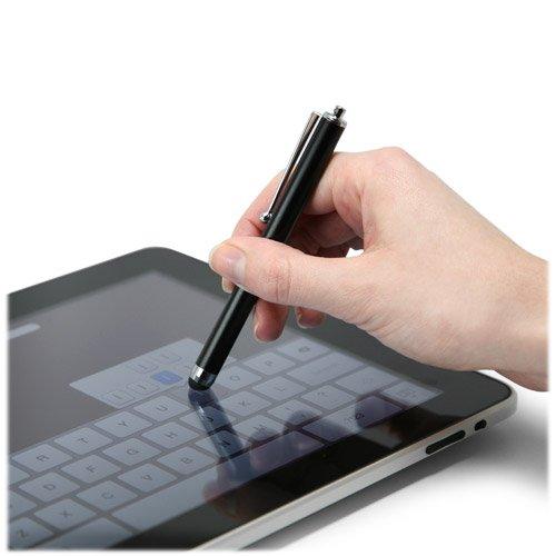 Stylus Pen for Kindle Fire (1st Gen 2011) (Stylus Pen by BoxWave) - Capacitive Stylus, Rubber Tip Capacitive Stylus Pen for Kindle Fire (1st Gen 2011), Amazon Kindle Fire (1st Gen 2011) - Bold Orange