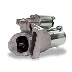 Provides consistent starting power with a high quality solenoid that properly engages the starter drive with the flywheel in your vehicle every time the ignition key is turned High standards for components like wiring, brushes, insulation, bearings a...