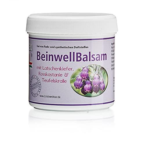 Beinwellsalbe I CristinenMoor Beinwell Balsam 200 ml I natürlich mit Beinwell- plus Teufelskralleauszug I zur intensiven Pflege von Bein-, Gelenk-, Muskel- und Rückenpartien