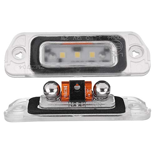 housesweet LED License Plate Light for Mercedes-Benz AMG ML GL R Class W164 W251