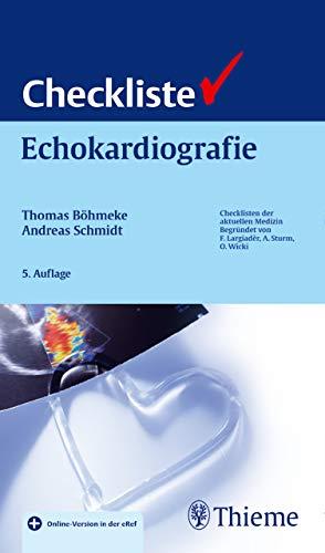 Checkliste Echokardiographie (Checklisten Medizin)