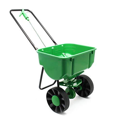 Streuwagen 25kg mit Kunststoffreifen für Dünger Saatgut Streusalz;;;;;