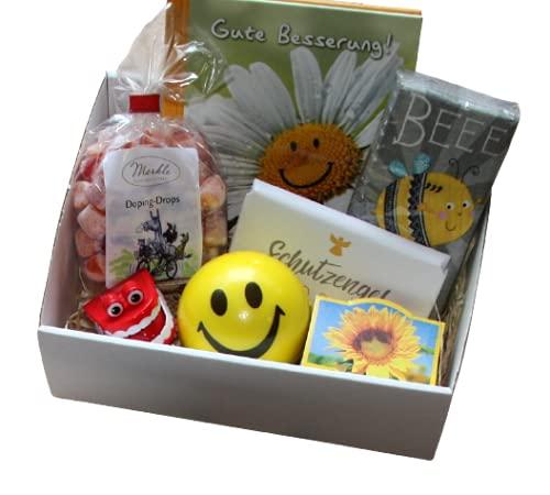 Gute Besserung Geschenk Box - Geschenkidee Genesung Geschenke
