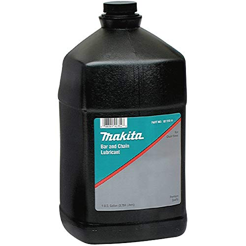 Makita 181116-A Bar and Chain Oil, 1 Gallon, Black