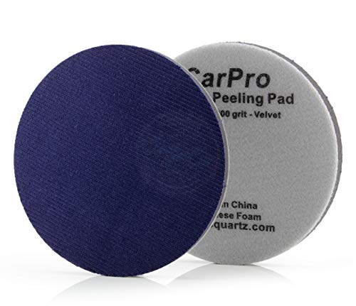 CarPro Denim Orange Peel Removal Pad – 5.25 Inches 2 Pack
