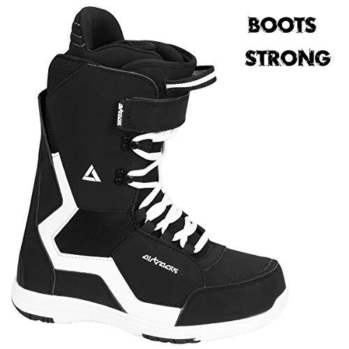 Airtracks - Set da snowboard Graffiti Wide Flat Rocker 159 + attacchi snowboard Master + Boots Master QL 47 + Sb Bag