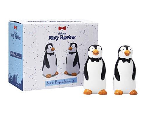 Salz- und Pfefferstreuer aus Keramik – Mary Poppins (Pinguine)