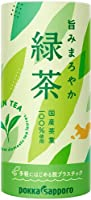 ポッカサッポロ 旨みまろやか緑茶 195g カート缶 60本 (30本入×2 まとめ買い)