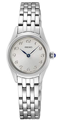 Seiko Damen Analog Quarz Uhr mit Metall Armband SWR057P1