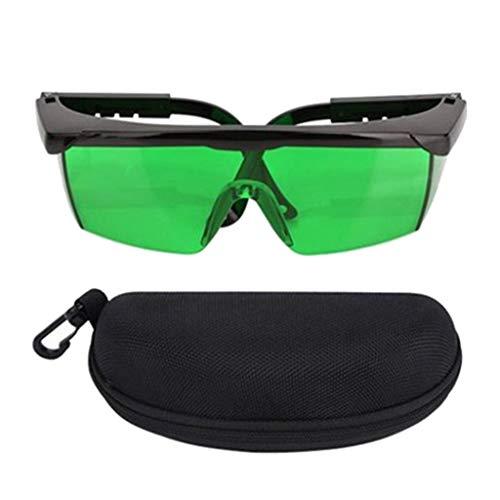 gazechimp Gafas de Mejora Lá-ser se Utilizan Principalmente para Niveles de Lá-ser de Líneas Cruzadas, Líneas Múltiples y Rotativas - Verde