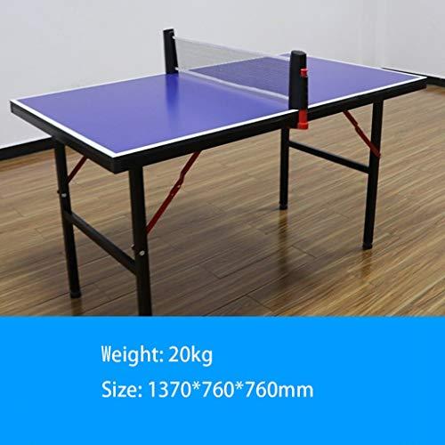 North cool Mesa De Ping Pong, A Prueba De Lluvia Y Anti-explosión Mesa De Tenis De Mesa Al Aire Libre Escuela De Tenis De La Comunidad Caso Niños Uso (Color : Tennis Table-Child)