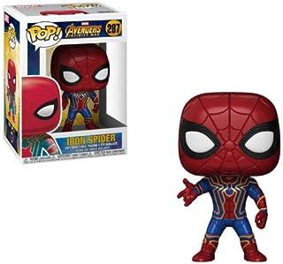 Funko POP! Marvel: Avengers Infinity War Iron Spider Bobblehead Fi, Estándar, Estándar, Multicolor