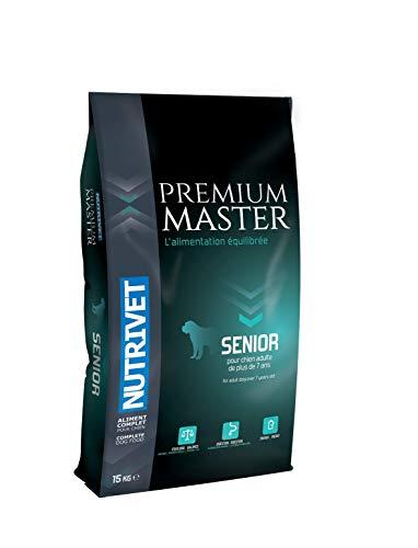 Nutrivet Master Premium Viande pour Chien Senior 23/11 15 kg