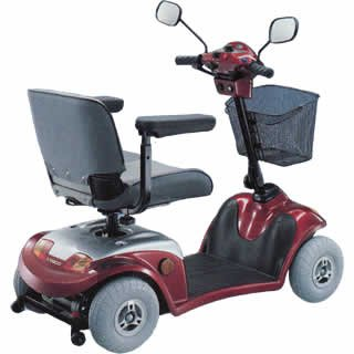 Kymco Midi ForU Mobility Scooter Red