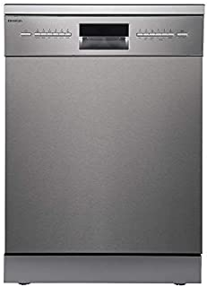 LAVAVAJILLAS INFINITON DIW-6214 INOX Ancho 60CM (A++, Display LED, Tercera Bandeja, Control Electronico, Independiente)