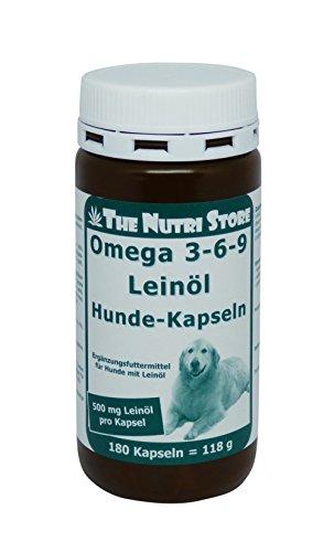 The Nutri Store Omega-3-6-9 Leinöl...