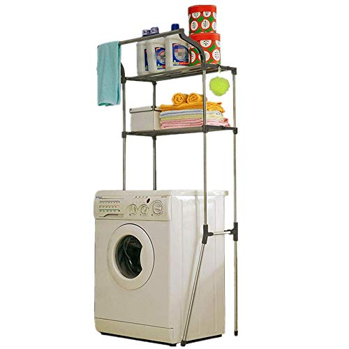 Almacenamiento Sobre El Inodoro Estante De Almacenamiento Sobre La Lavadora Almacenamiento En El Baño Ahorro De Espacio Organizador De La Sala De Lavandería Estantes De Almacenamiento Sobre El Inodor