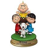 Hallmark Keepsake Christmas Ornament 2020, The Peanuts Gang 70th Anniversary You're a Good...