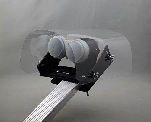 Hochwertige Wetterschutzhaube Klar für LNB Bei Regen, Schnee, Hagel und Eis Protector Regenschutz 3D 4K HDTV Digital Analog Premium Ausführung Transparent !