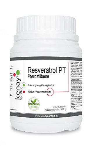 Resveratrol PT | 300 capsule | Kenay Europe