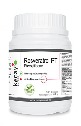 Resveratrol PT   300 Kapseln  Kenay Europe