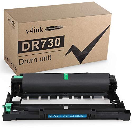 v4ink Compatible Drum Unit (NOT Toner) for Brother DR730 DR-730 DR 730 760 Drum for Brother HL-L2350DW HL-L2390DW HL-L2395DW HL-L2370DW XL DCP-L2550DW MFC-L2710DW MFC-L2730DW MFC-L2750DW XL Printer